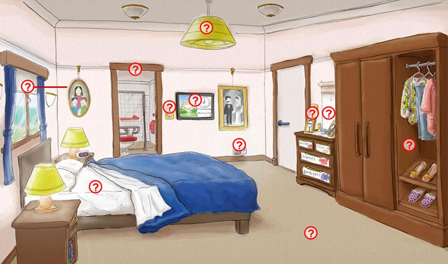 Bedroom Dementia Home Care Design Principles